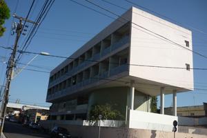 Imagem: Fachada da Residência Universitária 125.