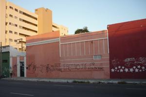 Imagem: Fachada da Residência Universitária 2133.